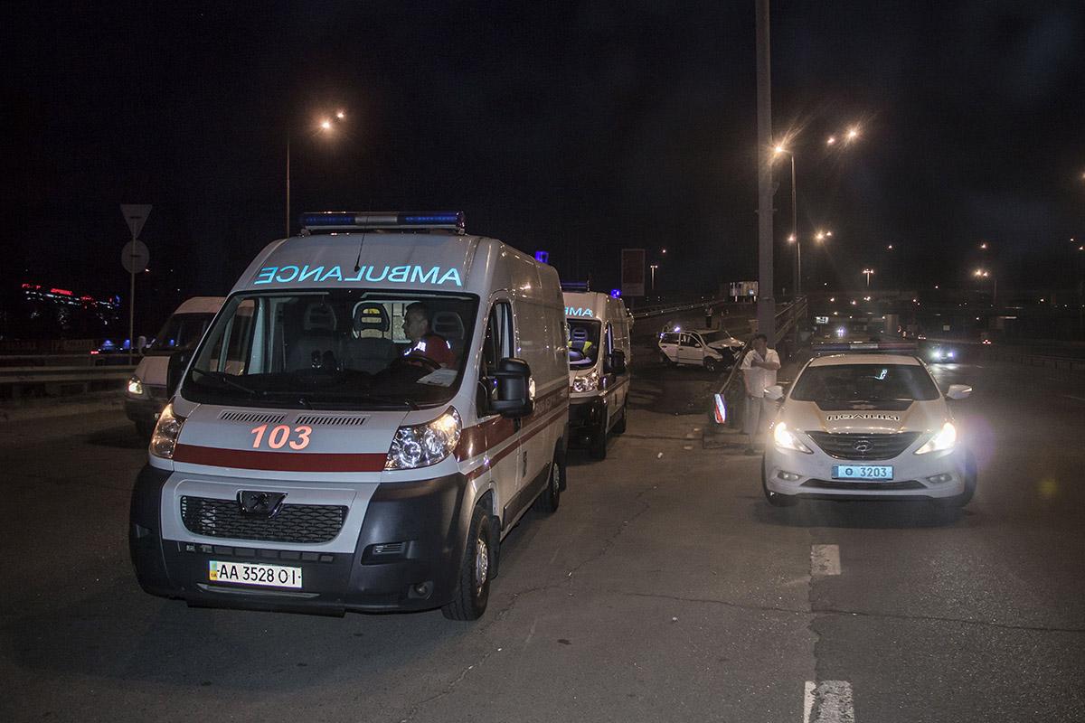 Водитель Skoda был госпитализирован