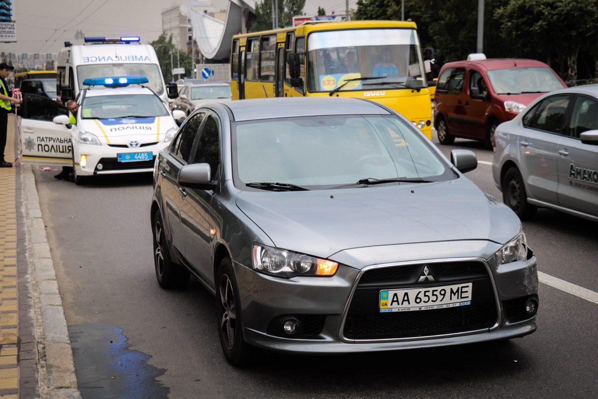 Водитель Mitsubishi рассказал, что не помнит, как все произошло