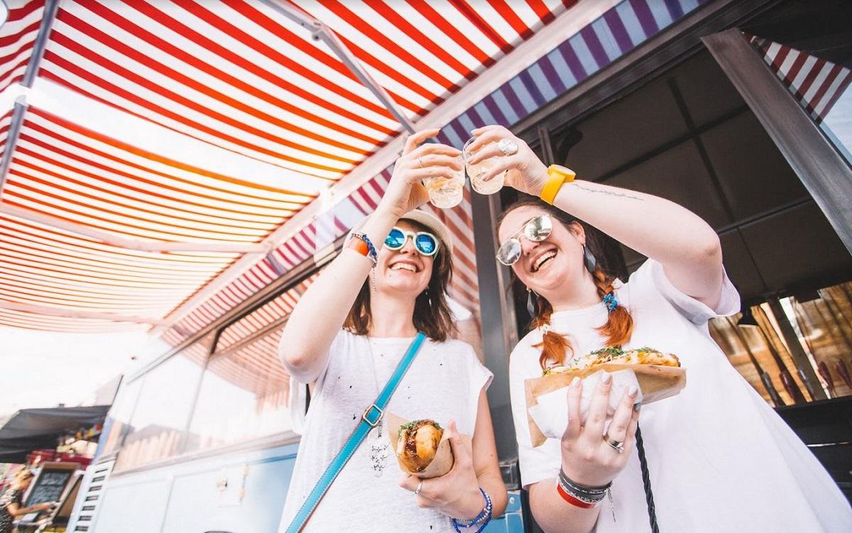 Фестиваль уличной еды в Киеве - для настоящих гурманов