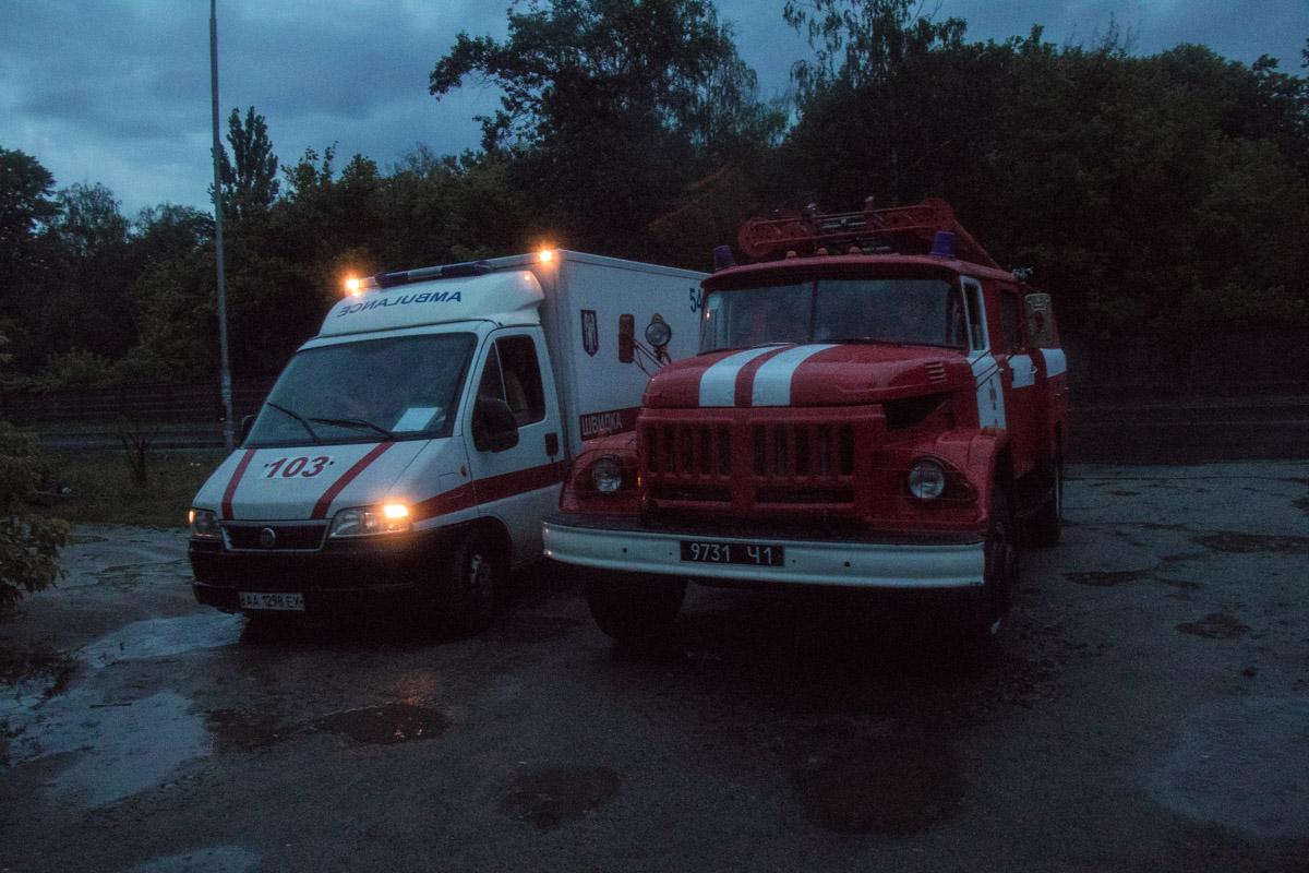 В ночь на 30 июня в Киеве на улице Газопроводной, 5 произошел пожар