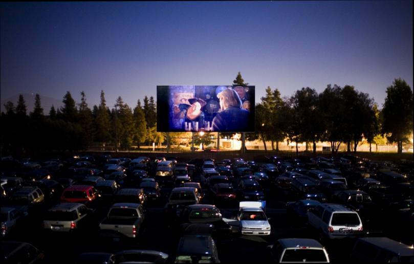 Кинотеатр для автомобилей