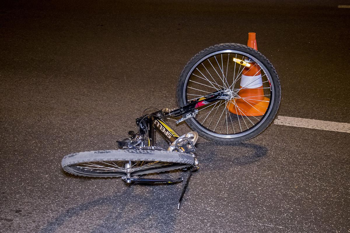 Велосипед полностью покорежен