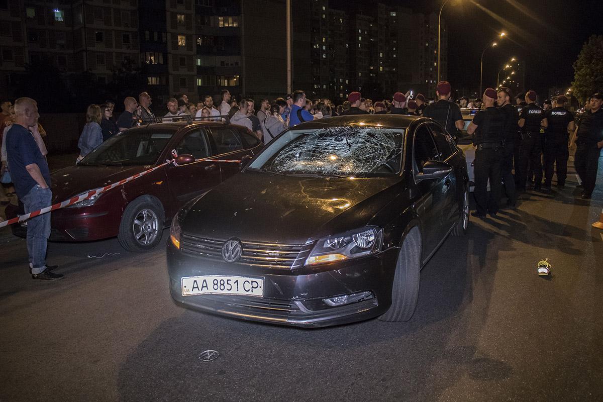 На проспекте Григоренко сбили мальчика