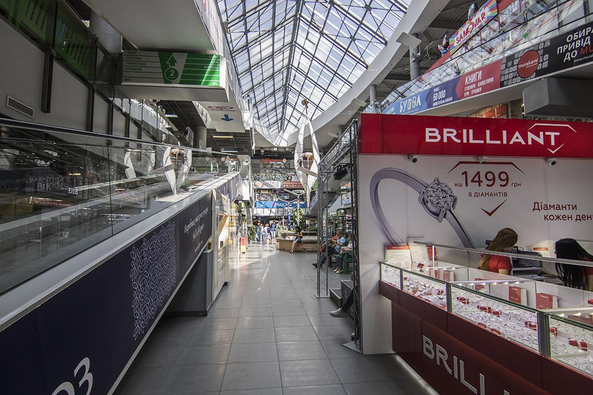 Магазины в ТРЦ продолжают работать в обычном режиме