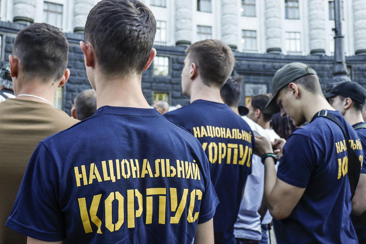Представители Нацкорпуса держат ДТП со сбитым мальчиком на контроле