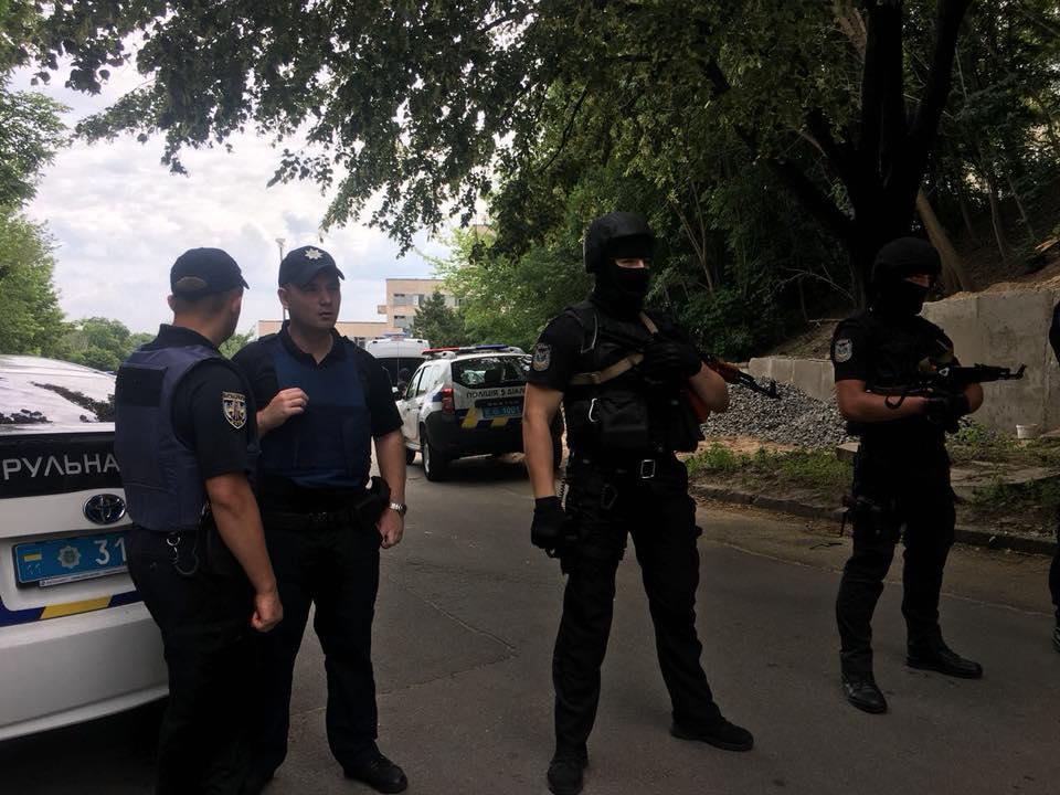 В Киеве проходят полицейские обучения