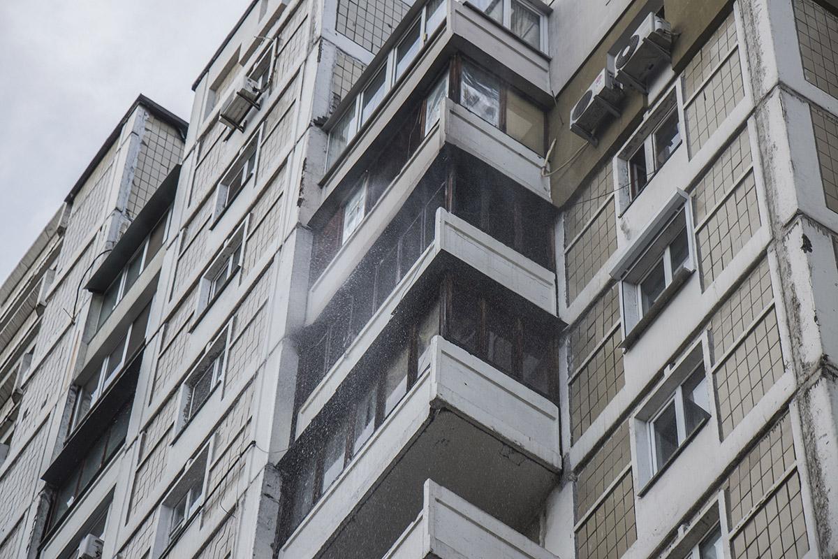 В понедельник, 11 июня, в Киеве по адресу Чернобыльская, 21 произошел пожар