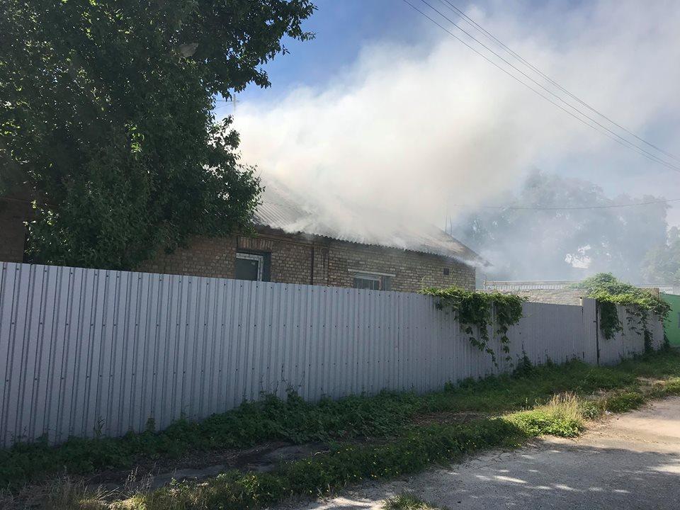Возгорание произошло около 15:00