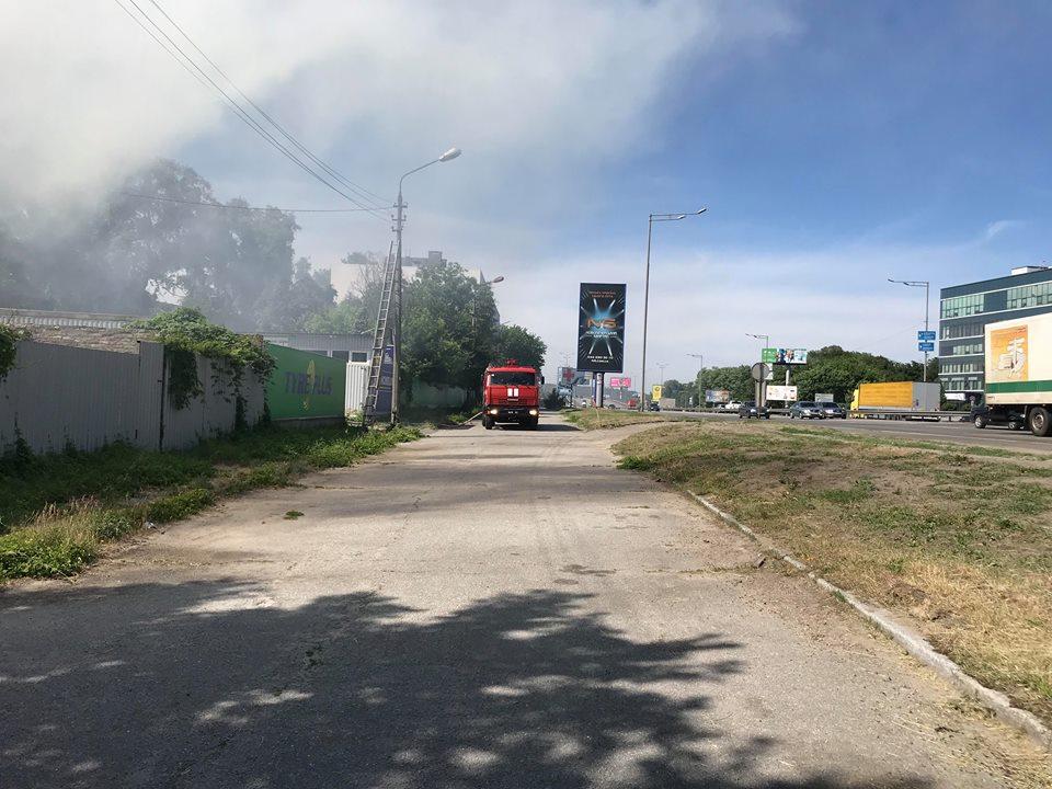 По предварительным данным, в результате пожара никто не пострадал