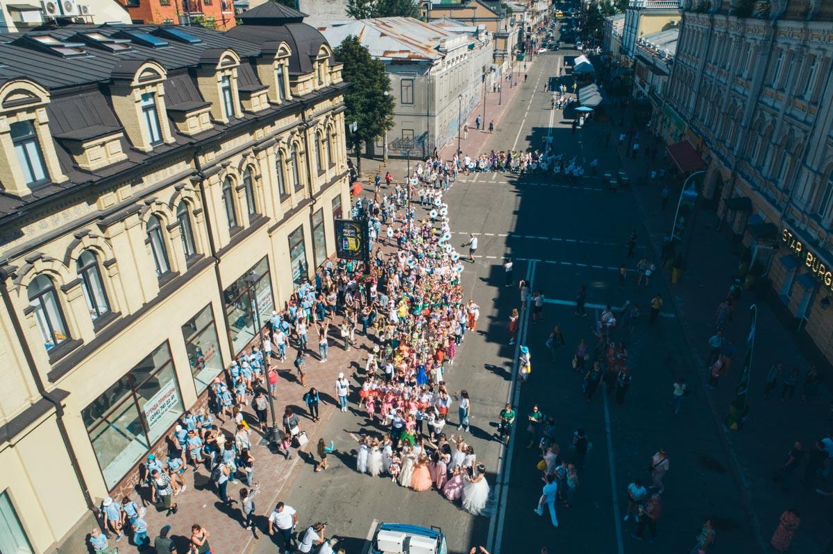 На Подоле в этот день собралось больше 70 000 людей