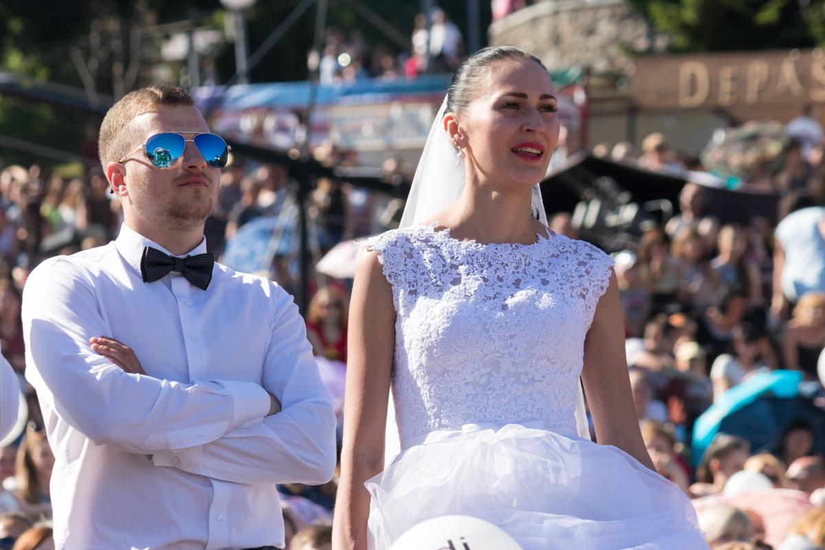 """Многие пары познакомились в прошлом году на """"Большой свадьбе"""", а в этом году пришли уже в качестве жениха и невесты"""