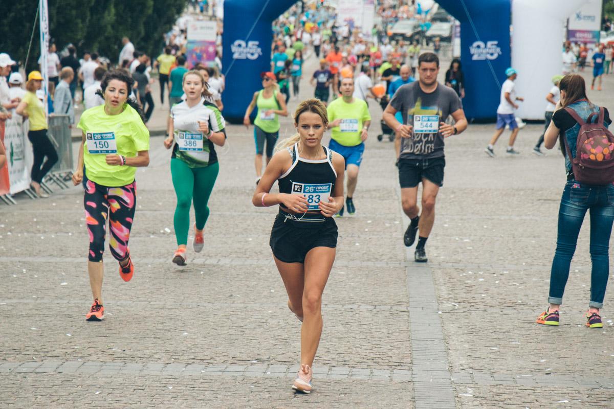 Спортивные и красивые киевляне