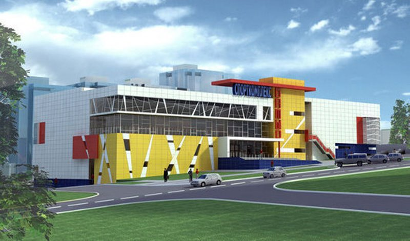 В Украине построят шесть современных спортивных комплексов