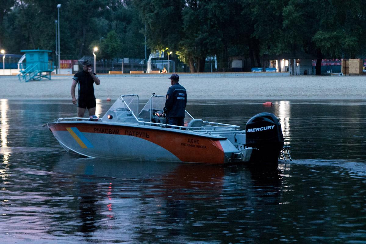 Во вторник, 12 июня, в Киеве на Гидропарке утонул парень
