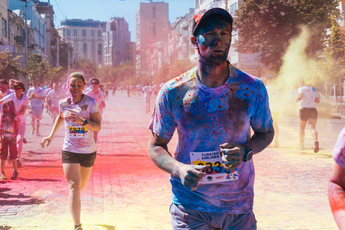 Полумарафон бежал, марафон бежал, а Color Run не бежал