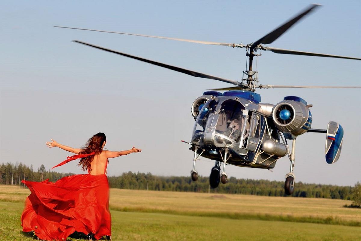 Полет на вертолете вы точно запомните на всю жизнь