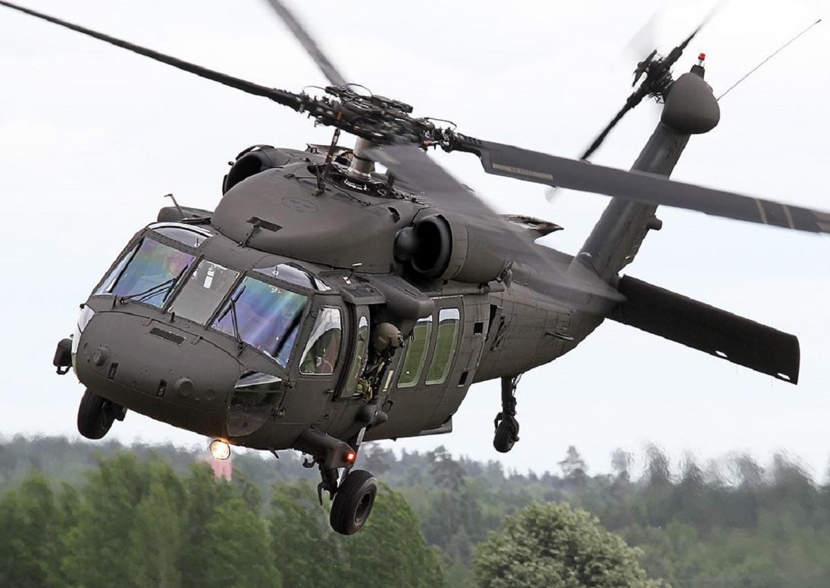 В Южной Корее потерпел крушение военный вертолет