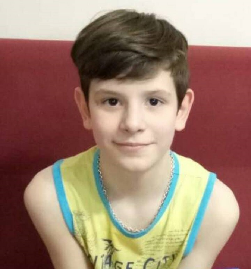 В области разыскивают 12-летнего Устима Зинченко