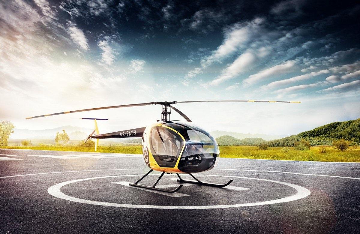 """В агентстве полетов """"В небо"""" вам дадут возможность почувствовать себя пилотом вертолета"""