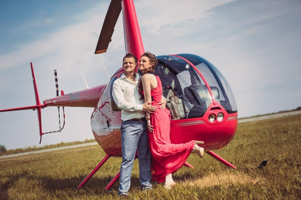 Перед воздушным путешествием вам устроят романтический пикник на аэродроме