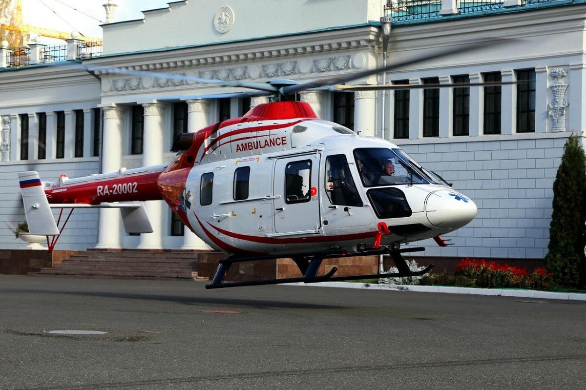 В Чикаго потерпел крушение медицинский вертолет