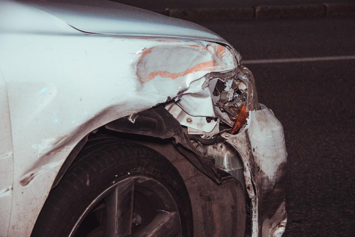 Повреждения у Toyota