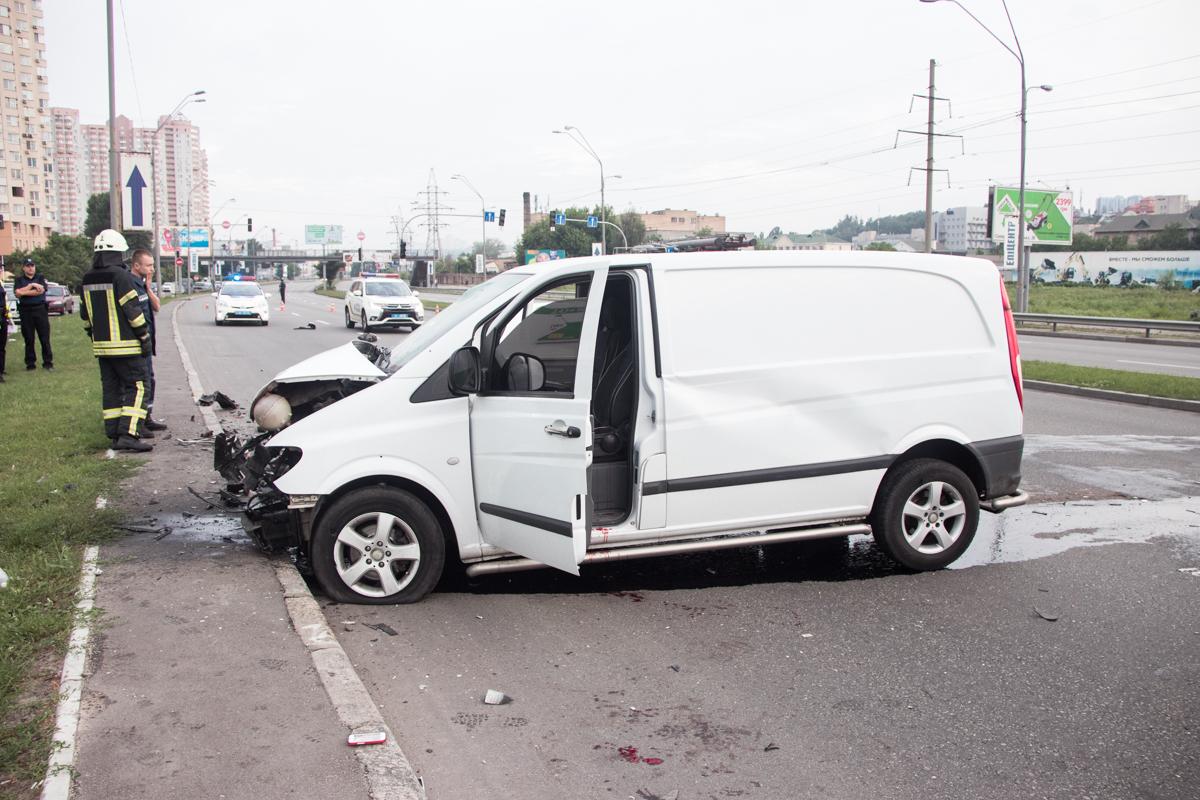 Авария произошла около 5:45