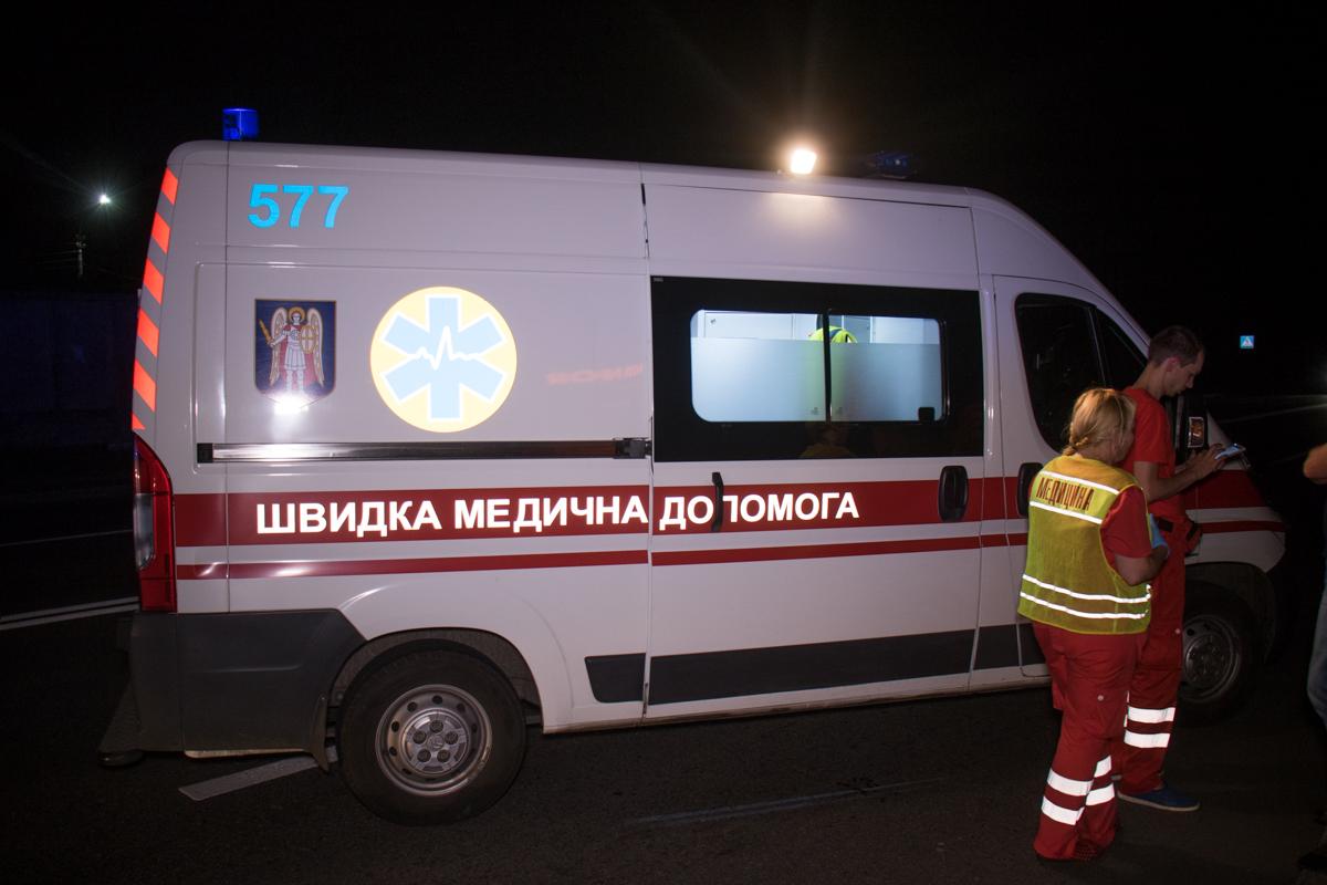 В результате аварии женщина-пешеход скончалась в «скорой»