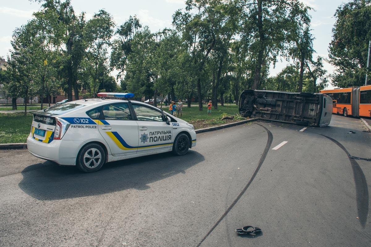 9 июля, на бульваре Вернадского произошло ДТП