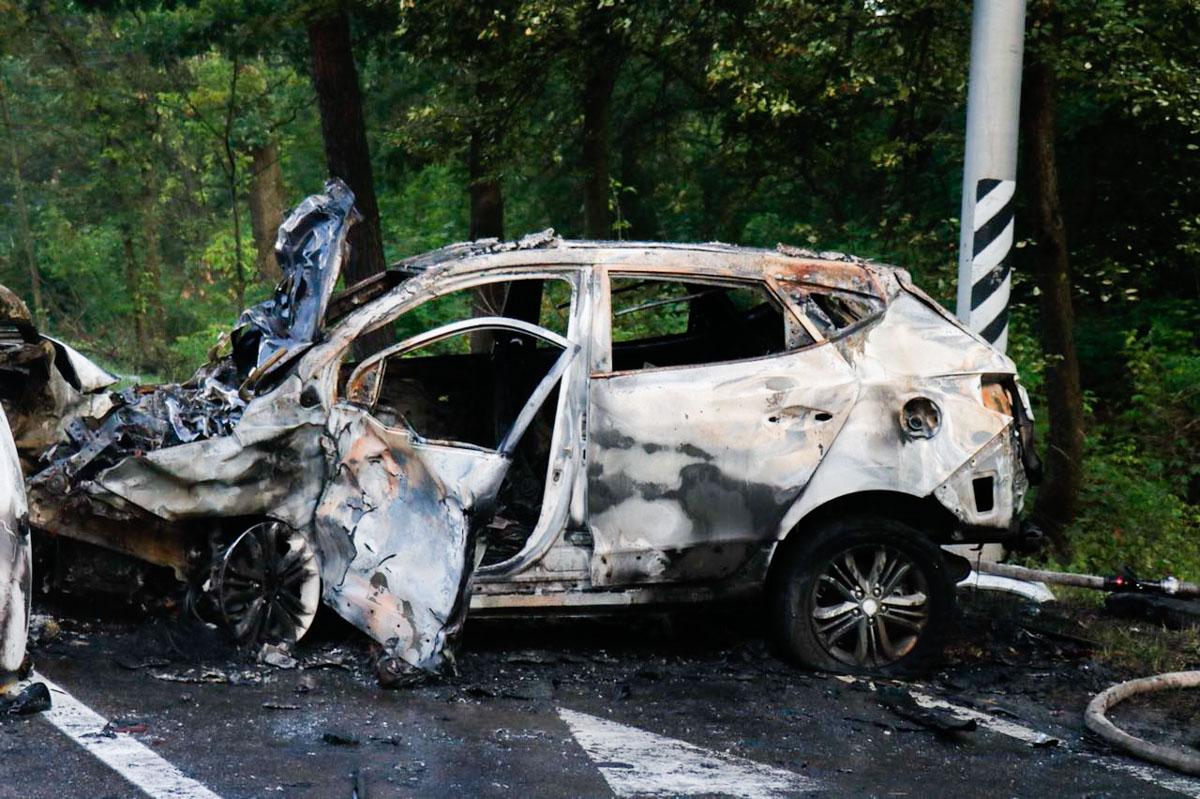 Renault занесло на скользкой дороге