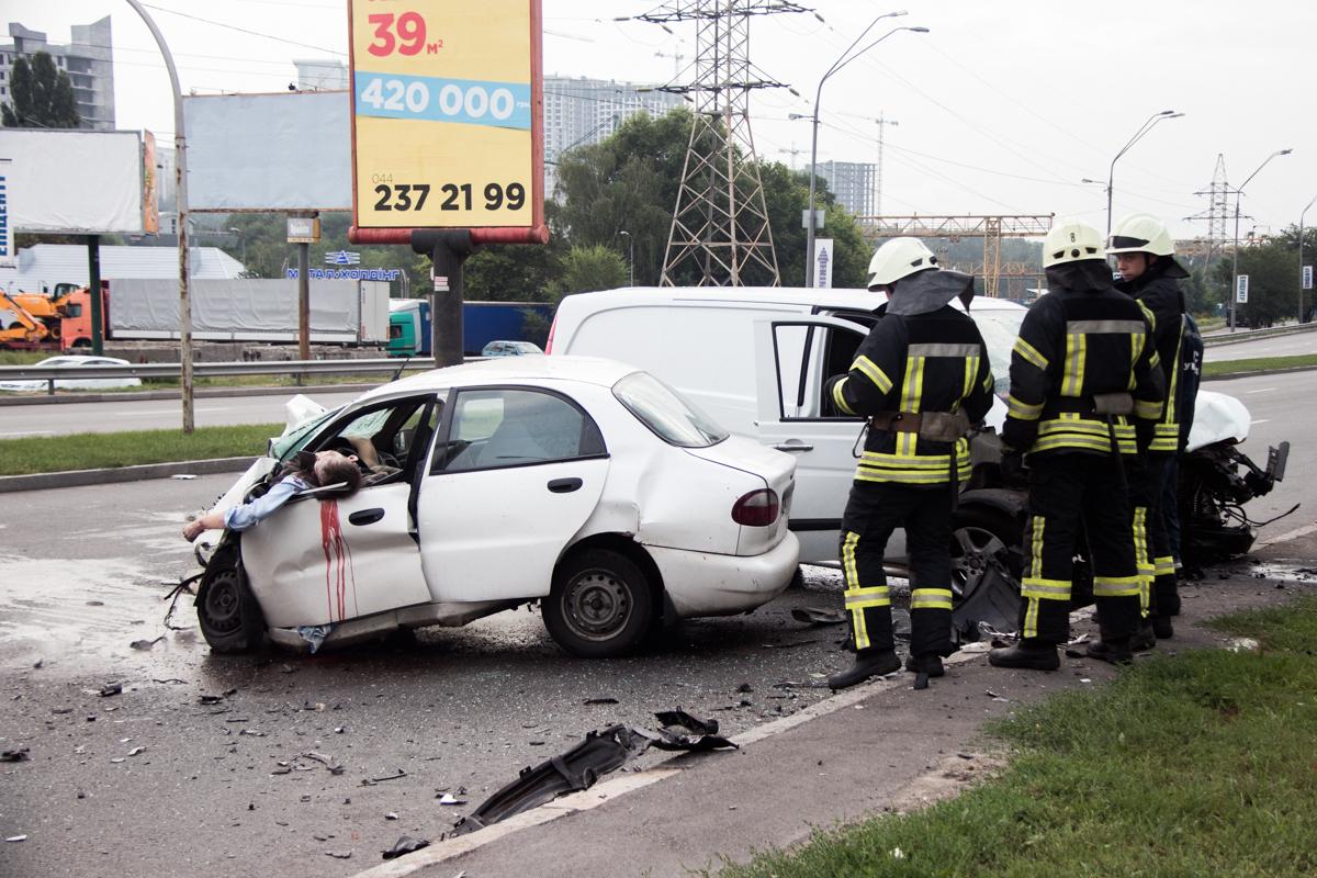 18 июля по адресу улица Саперно-Слободская, 26, произошло ДТП