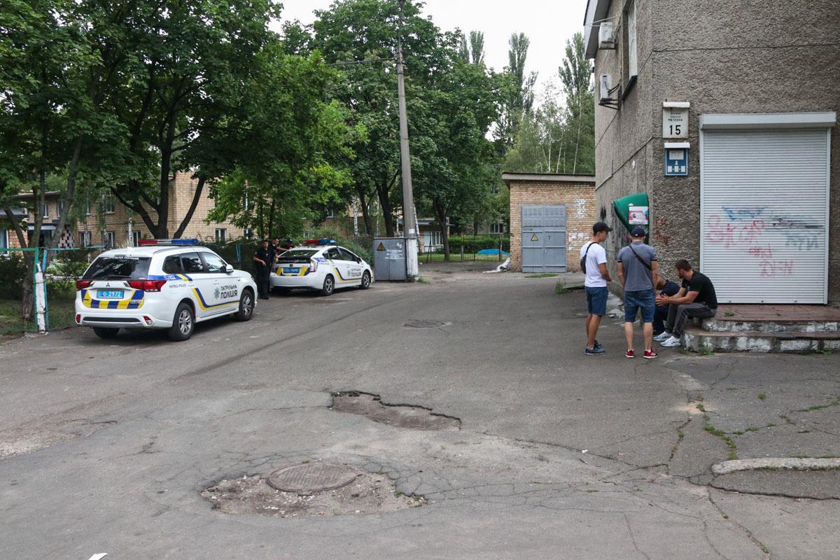 Информацию об инциденте подтвердили в пресс-службе полиции Киева