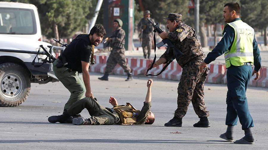 В международном аэропорту Кабула имени Хамида Карзая прогремел мощный взрыв