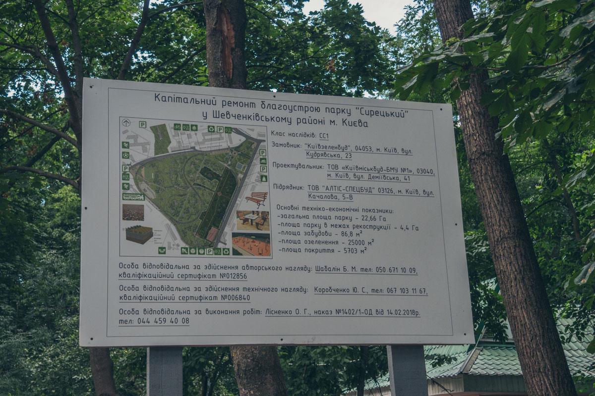 На реконструкцию парка город потратил 23 433 900 гривен
