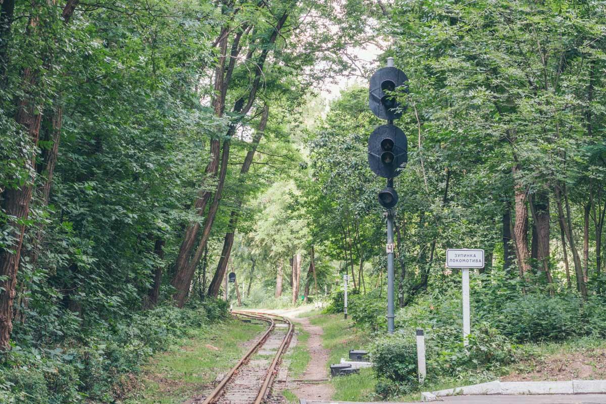 Железная дорога для деток начинает работу в мае каждый год