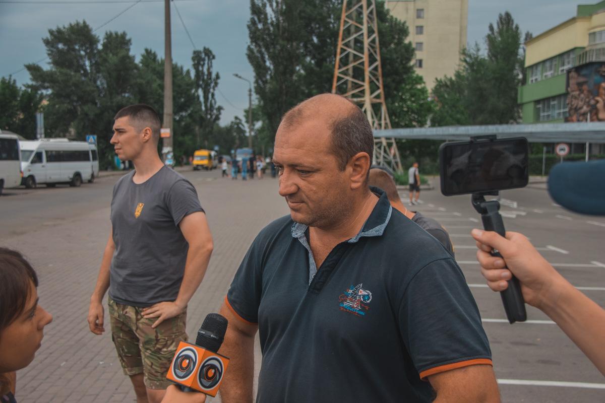 """Директор ТОВ """"Автосервис"""" Игорь Коломиец рассказал, что такой рэкет происходит на территории всей Украины"""