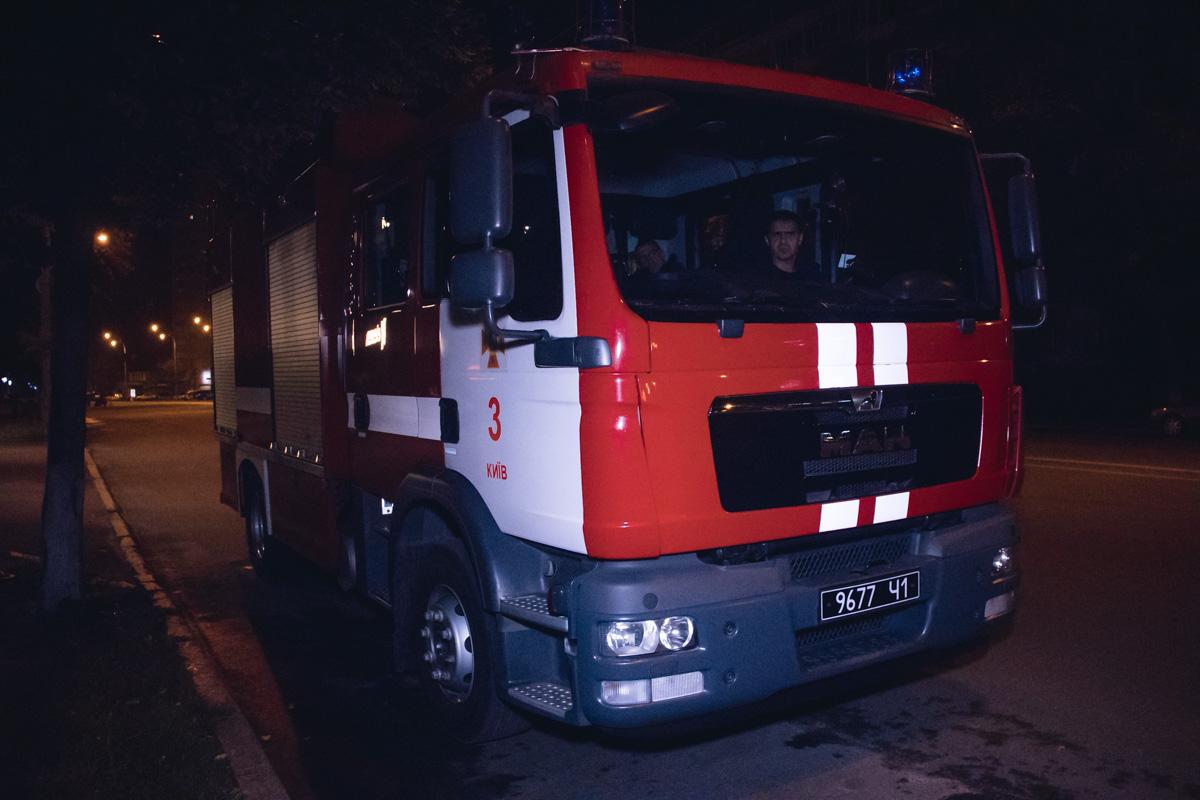 На месте дежурили «скорая», полиция и спасатели ГСЧС