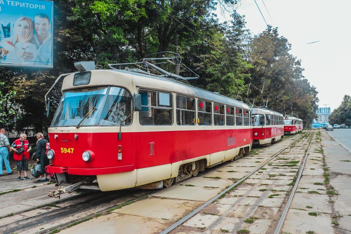 Трагедия случилась в трамвае №14