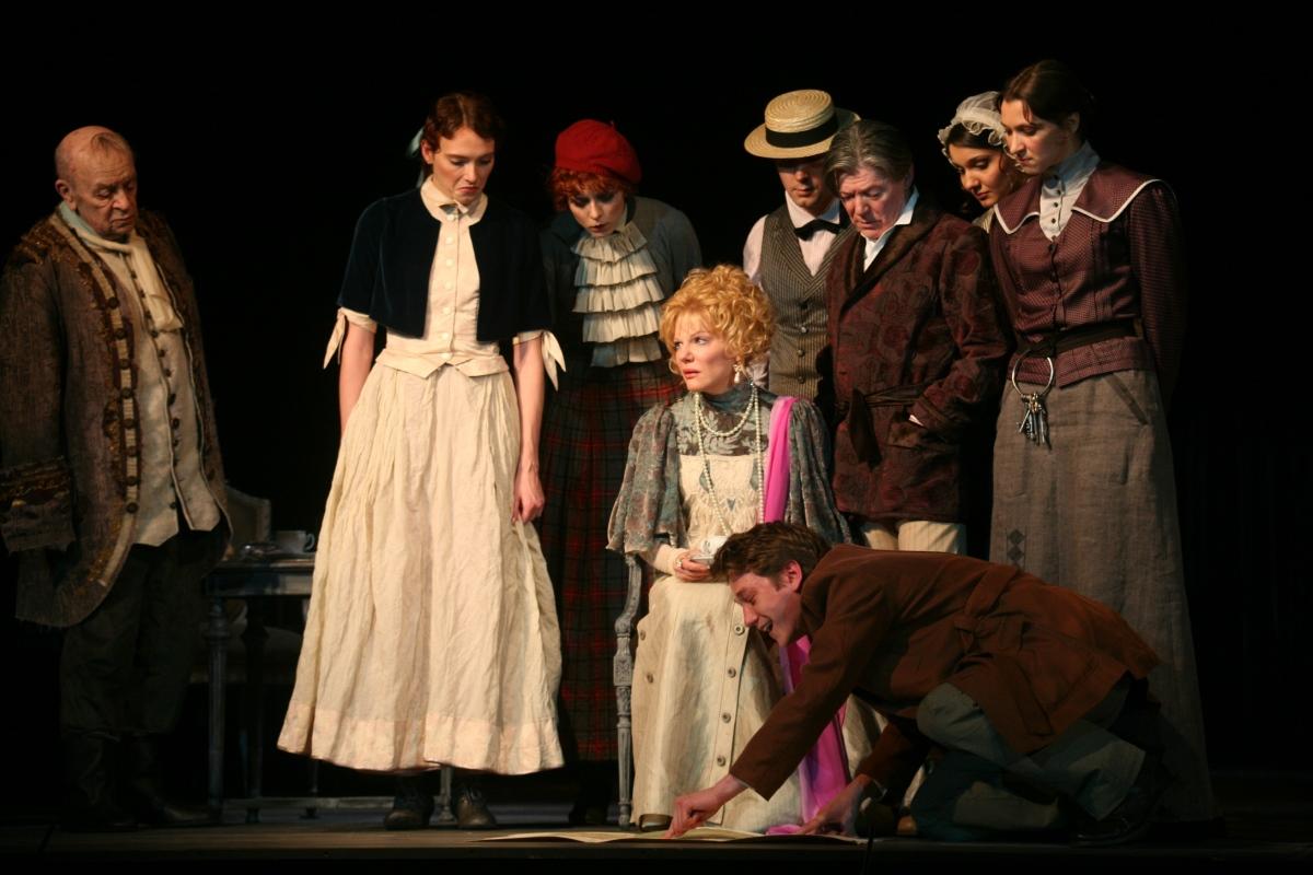 На сцене Национального академического театра русской драмы им. Леси Украинки – шедевр театральной классики