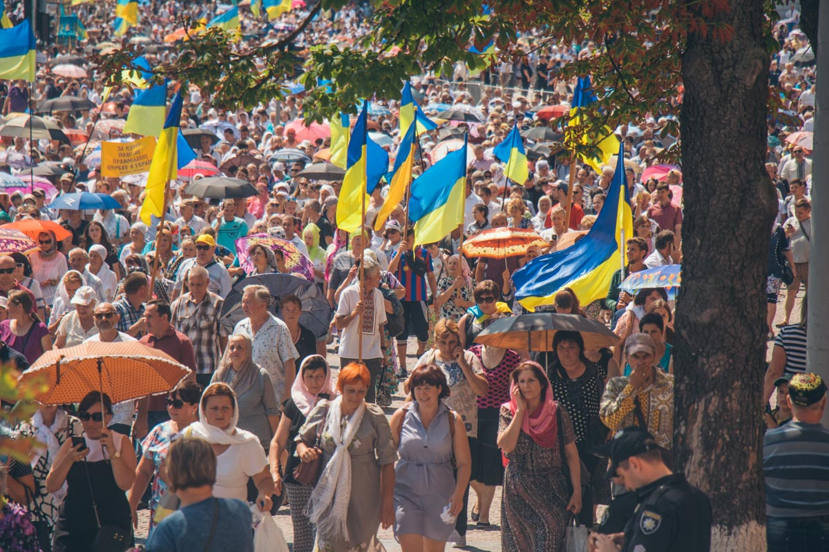 В пути на Владимирскую горку