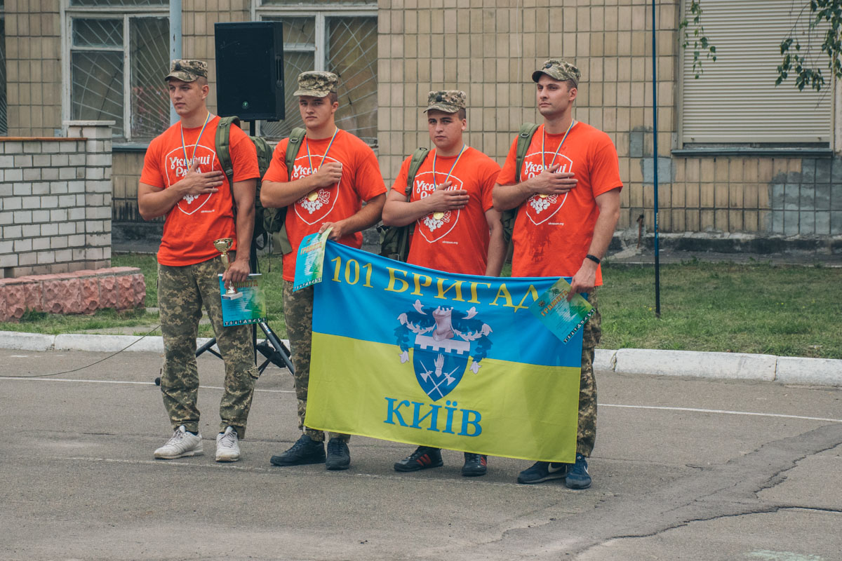 Однако сильнейшими оказались парни из 101бригады охраны Генерального Штаба МинОбороны Украины
