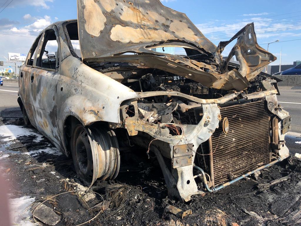 Пожарные быстро потушили пламя
