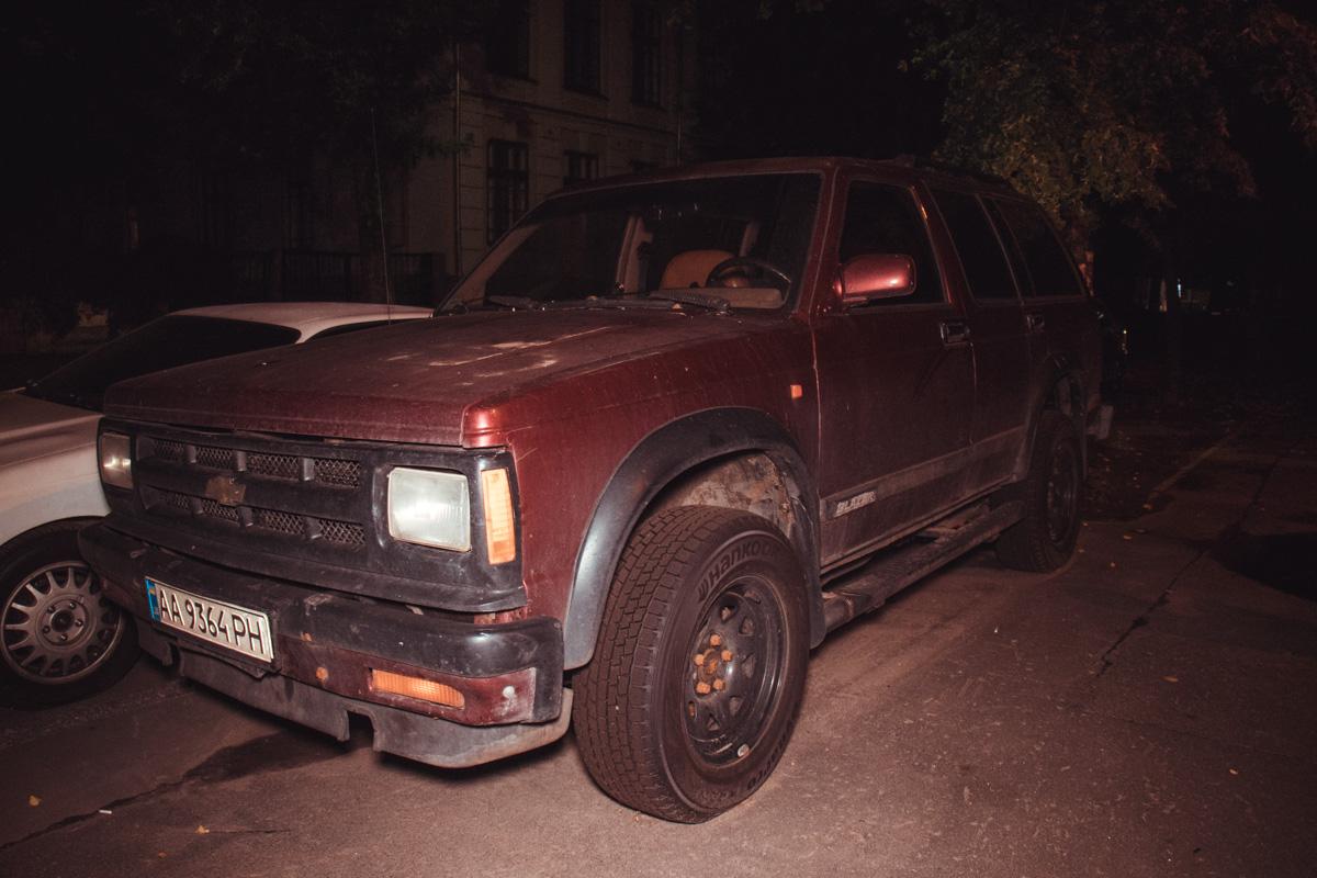 Второе поколение знаменитого в конце 80-х в США внедорожника Chevrolet Blazer