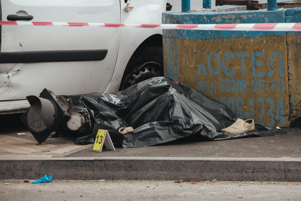 Один из пешеходов скончался на месте
