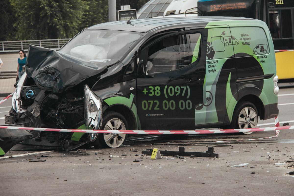 Владелец Nissan не пострадал