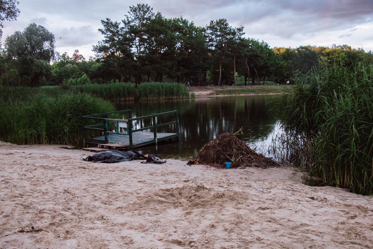 """Трагедия случилась в парке Партизанской славы, недалеко от ресторана """"Колиба"""""""