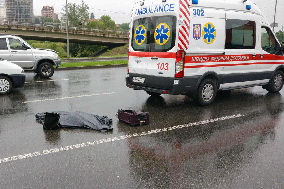 Hyundai Accent насмерть сбил женщину-пешехода