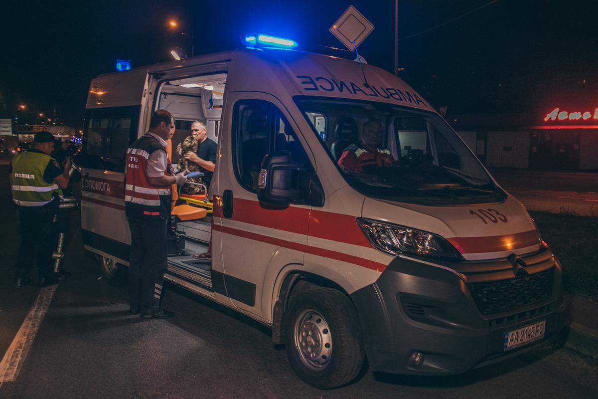 В результате аварии водителя Mazda госпитализировали с травмой головы и подозрением на травмы легких и ребер