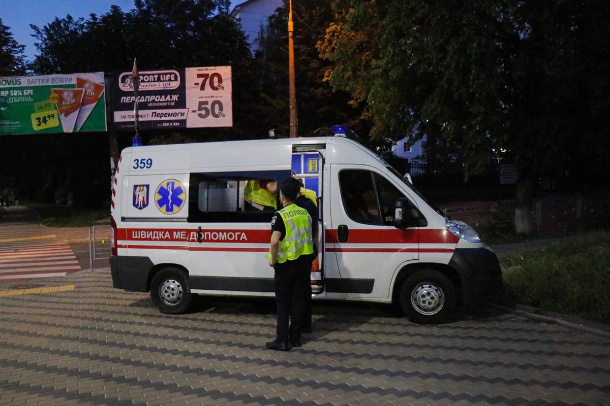 Медиков на место происшествия вызвала женщина-очевидец