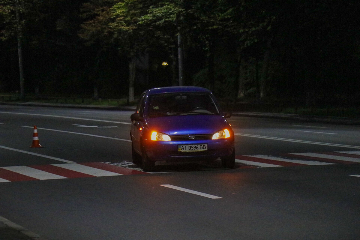 9 июля на Воздухофлотском проспекте автомобиль Lada Kalina сбил пенсионера прямо на пешеходном переходе